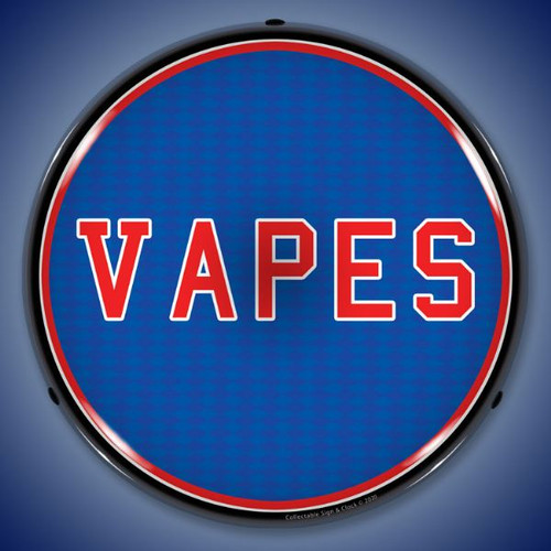 VAPES  LED Lighted Business Sign 14 x 14 Inches