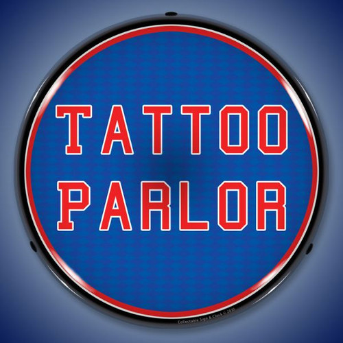 Tattoo Parlor LED Lighted Business Sign 14 x 14 Inches
