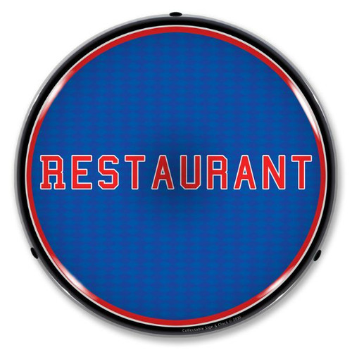 Restaurant LED Lighted Business Sign 14 x 14 Inches