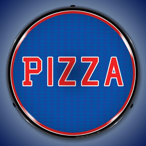 Pizza LED Lighted Business Sign 14 x 14 Inches