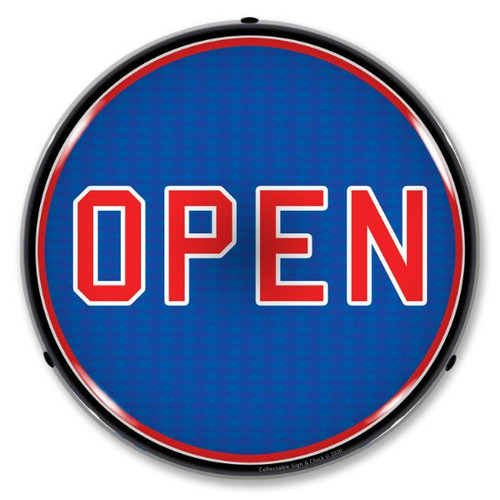 Open LED Lighted Business Sign 14 x 14 Inches