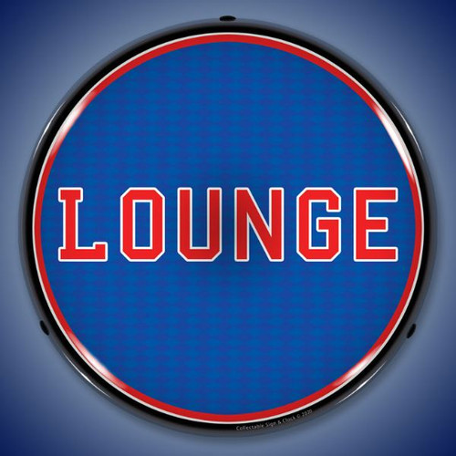 Lounge LED Lighted Business Sign 14 x 14 Inches
