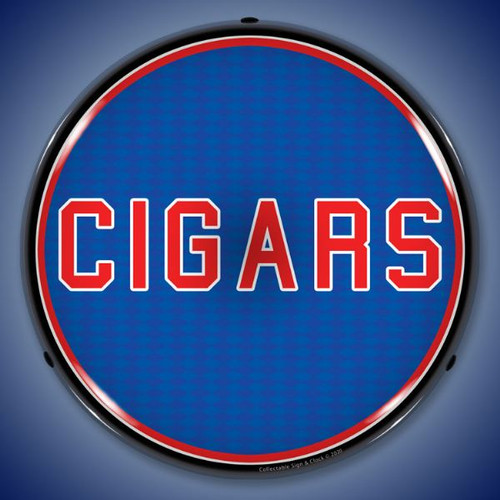 Cigars LED Lighted Business Sign 14 x 14 Inches