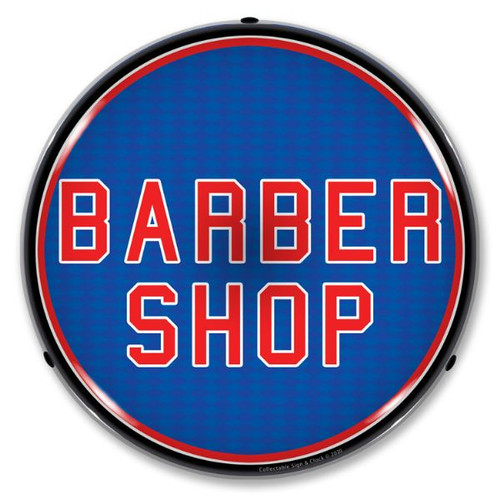 Barber Shop LED Lighted Business Sign 14 x 14 Inches