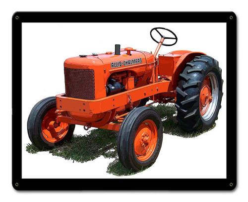 Allis Chalmers IB Metal Sign 15 x 12 Inches