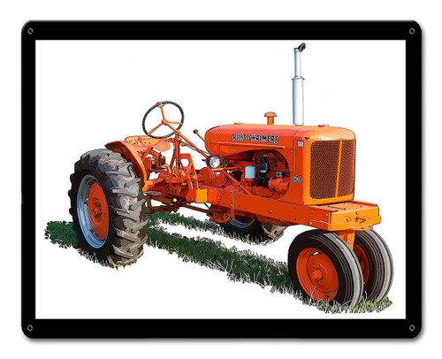 Allis Chalmers WC Metal Sign 15 x 12 Inches