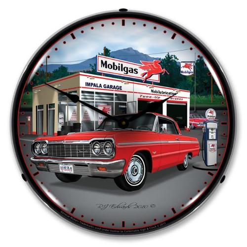 1964 Impala Garage Lighted Wall Clock