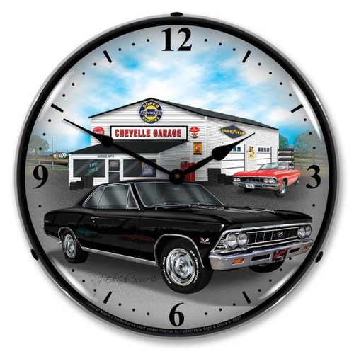 1966 Chevelle Lighted Wall Clock