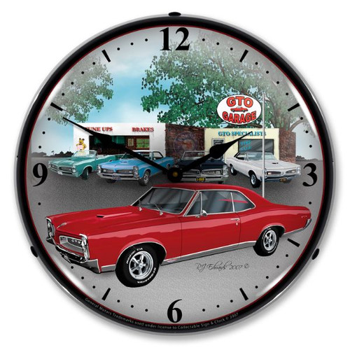 1967 GTO Lighted Wall Clock