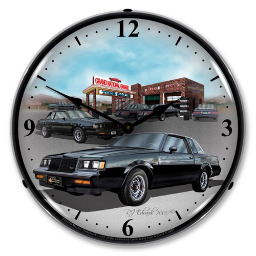 1987 Buick Grand National Lighted Wall Clock