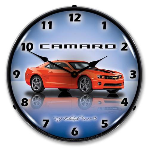 Camaro  SS  g5 Lighted Wall Clock