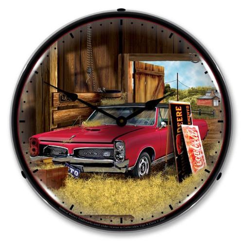 GTO Hidden Treasures Lighted Wall Clock