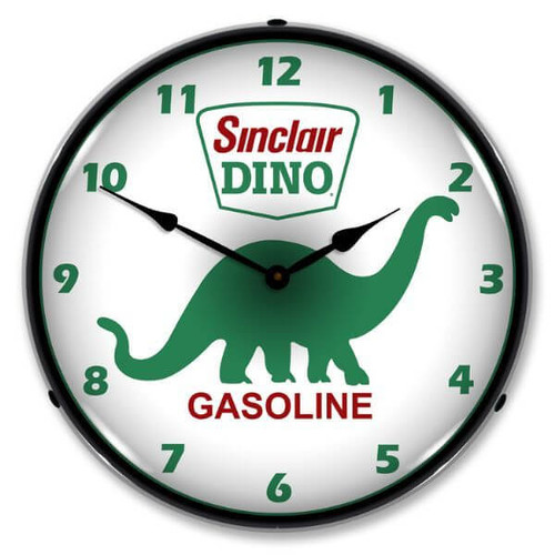 Vintage-Retro  Sinclair Dino Lighted Wall Clock