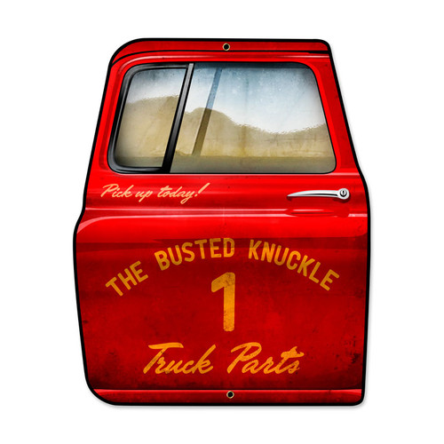 Vintage Truck Parts Metal Sign 15 x 19 Inches Inches