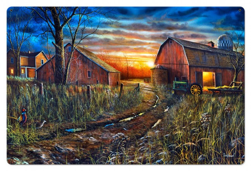 Days Gone By Metal Sign 36 x 24 Inches