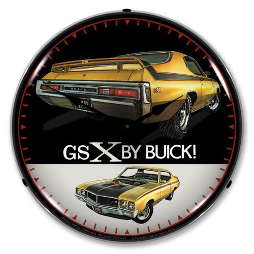 1970 Buick GSX Lighted Wall Clock 14 x 14 Inches