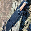 "Fallkniven THOR, Model NL1, 10"" Blade, w/ Black Leather Sheath"