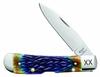 "Case Tribal Jigged Burnt Purple Bone Tribal Lock 61800, 4 1/8"" Closed Length SS Blade"