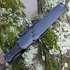 """Fallkniven A1x Survival - Blk Thermorun (6.34"""" Blk Tungsten Carbide) Zytel Sheath A1Xb"""
