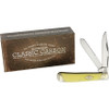"""Rough Ryder RR1731 Trapper Classic Carbon,  4.13"""" Closed Carbon Steel, Synthetic Handle"""