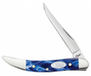 Case 23437 SparXX™Blue Pearl Kirinite® Smooth Small Texas Toothpick (1010096 SS)