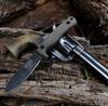 "ESEE-AGK Ashley Game Knife, 3.5"" 1095 High Carbon Steel, Micarta Handle"