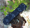 """Hogue Compound 34039, 3.5"""" CPM S30V Clip Point Tumbled Blade, G-Mascus Black G-10 Handle"""