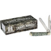 Rough Ryder RR1884 Easy Money Trapper, Stainless Steel, Acrylic Handle