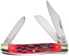 Hen & Rooster HR273RPB Stockman Red Bone, Stainless Steel, Bone Handle