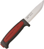 """Mora Pro C Fixed Blade, 3 5/8"""" Carbon Steel Plain Blade, Rubberized Overmold Handle-FT01508"""
