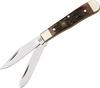 Hen & Rooster Knives 422ASC Mini Trapper, Autumn Bone Handle