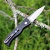 "Pro-Tech Tactical Response 2 TR-2.3, 3.50"" 154CM Satin Blade, Black Aluminum Handle"
