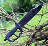 """Cold Steel Chaos Bowie 80NTB, 10 1/2"""" SK-5 High Carbon Steel, 6061 Aluminum Handle"""