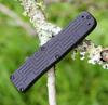 Boker Plus OTF Blackout 06EX263, 3.5 in. 154CM Black Blade, Black Aluminum Handle