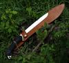 "Fox Knives Pathfinder Machete FX-679, 13.77"" 4119 Nitro-B SS, Black FRN Handle"