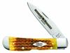 "Case Limited XX Edition XXV Honeycomb Bone Tribal Lock 11975, 4 1/8"" Closed Length SS Blade"