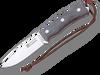 "Joker CV120 Bushcrafter Bushcraft Knife, 4.13"" Böhler N695 Blade, Canvas Micarta Handle"