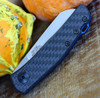 "Zero Tolerance 0230, 2.6"" CPM 20CV Stonewash Blade, Carbon Fiber Handle"