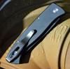 ProTech 1221 Brend Auto #2, 154-CM Steel Black Blade, Black Aluminum Handle