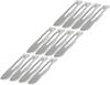 """Havalon HV22XTDZ One Dozen Quik-Change Blades, 2 3/8"""" Stainless Blades"""