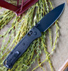 "Benchmade Bugout 535BK-2, 3.24"" CPM-S30V Carbon Coated Plain Blade, CF-Elite Handle"