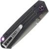 "CRKT Montosa Linerlock CR7115, 3.246"" 8Cr13MoV Plain Blade, Black G10 Handle"