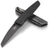 "CRKT Inara Framelock CR7140, 2.783"" 8Cr14MoV Plain Blade, Black G10 Front w/ 2Cr13 SS Back Handle"