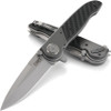 "CRKT M40 Deadbolt Lock Spear CRM4003, 3.453"" 1.4116 Plain Blade, Bolster - 6063 Al 