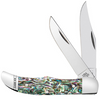 Case Pocket Hunter 12021 Smooth Abalone Handle (82165 SS)