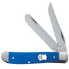 Case Mini Trapper 16741 Blue G-10 Handle (10207 SS)