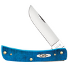 Case Sod Buster Jr 25590 Caribbean Blue Jig Bone (6137 SS)