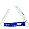 Case Mini Copperhead 23433 Sparxx Blue Pearl Kirinite Handle (102109W SS)