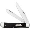 Case Trapper 23142 Black Canvas Laminate Handle (10254 SS)