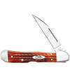 Case Copperlock 7397 Pocket Worn Harvest Orange Bone (61549WL SS)